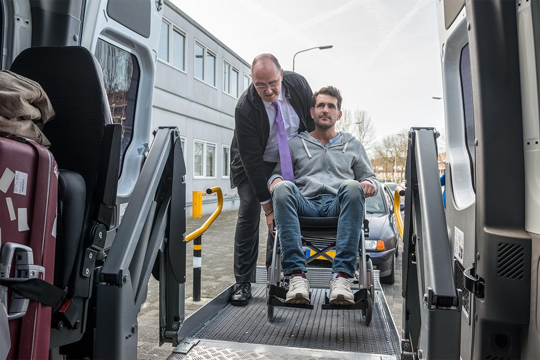On-Demand Wheelchair Service